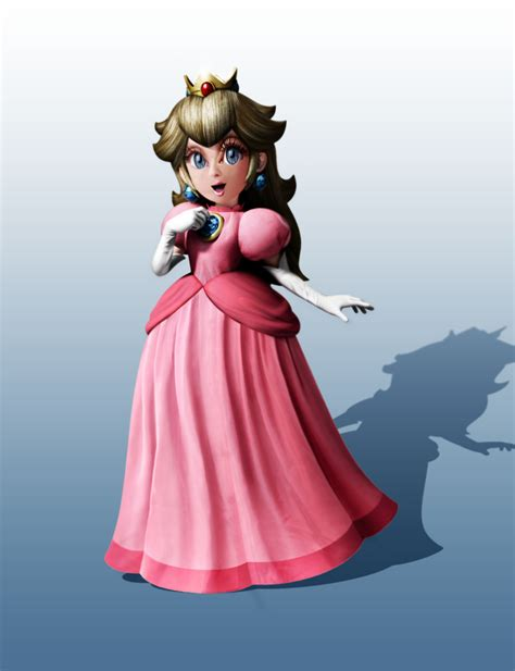The Making Of Princess Peach Re Textured Special Effects