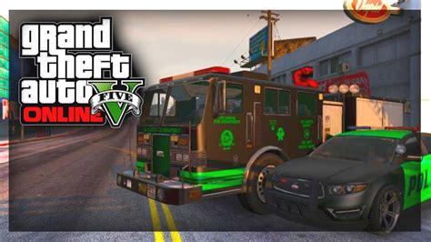 gta  custom cars custom fire truck police cars gta