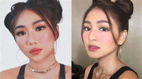 nadine lustre makeup transformation