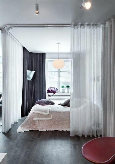 separation chambre la séparation de pièce amovible optez pour un rideau