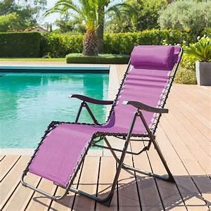 Fauteuil Relax Jardin : fauteuil relax de jardin silos prune hesp ride ~ Nature-et-papiers.com Idées de Décoration