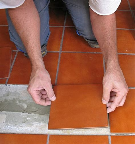 installing kitchen floor tile how to tile the floor by yourself 4746