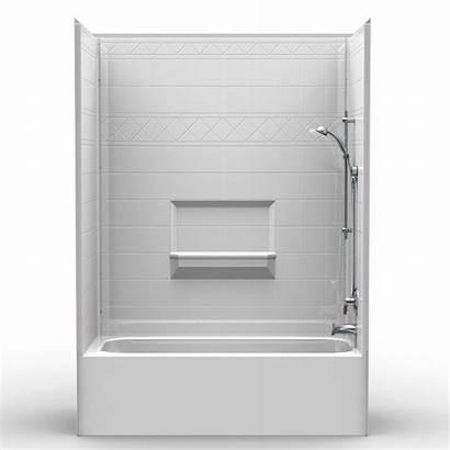 Shower Tub Piece V2 Multi Combo Curb