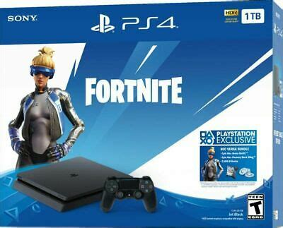 sony playstation  slim tb fortnite bundle brand  ebay