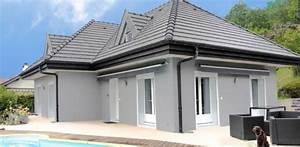 Facade Maison Grise : maison facade grise ql95 jornalagora ~ Melissatoandfro.com Idées de Décoration