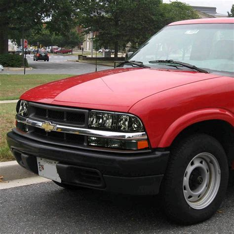 9804 Chevy S10  Blazer Replacement Crystal Headlights