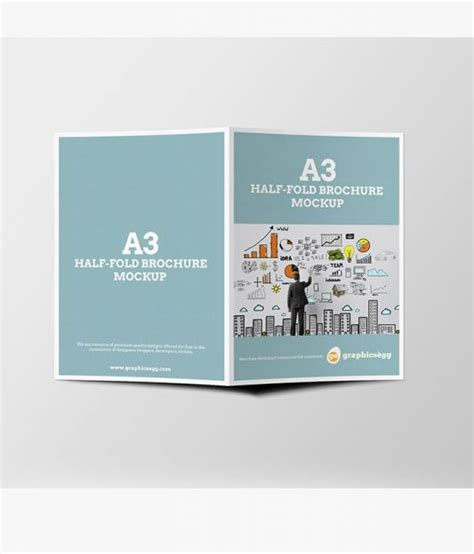 Half Fold Brochure Template Free Best And Professional Business Flyer Brochure Templates In Psd 30 Best Designs