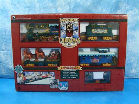 1996 toystate north pole christmas express train set