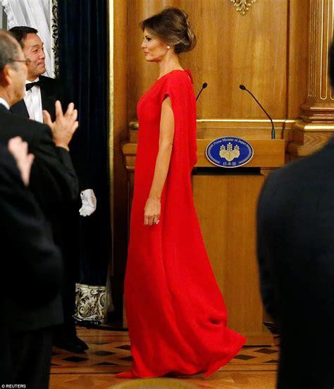 Japan State Dinner Melania Trump