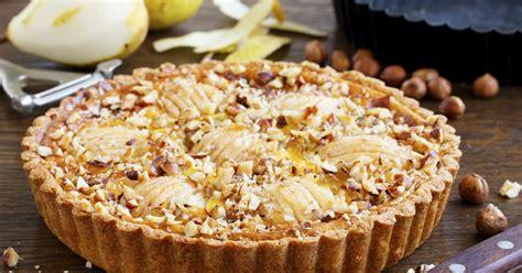 recette tarte aux poires  mascarpone