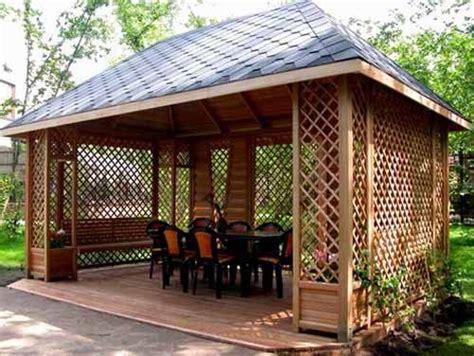 22 beautiful metal gazebo and wooden gazebo designs