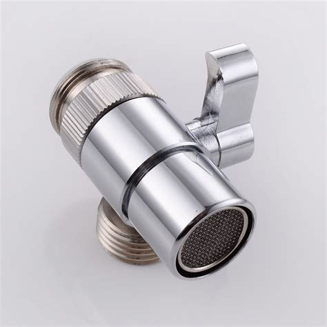 kitchen faucet hose adapter kes brass sink valve diverter faucet splitter for kitchen