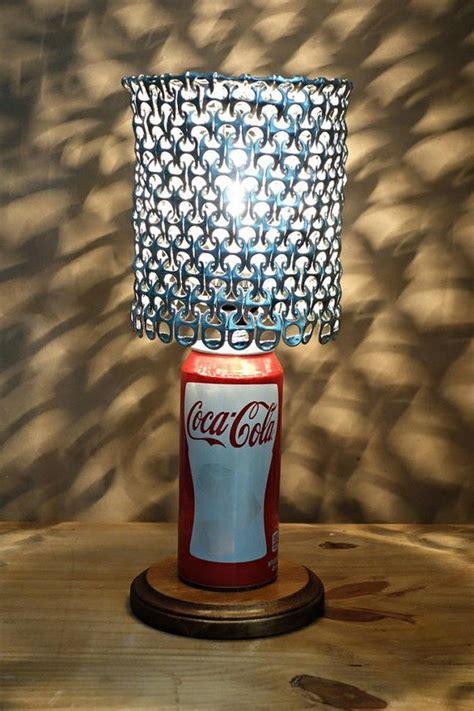 soda pop tab lamp shade craft projects   fan