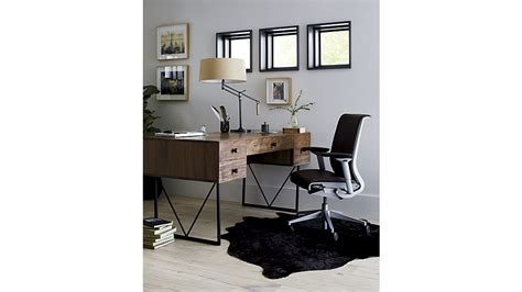 atwood desk for sale atwood reclaimed wood desk crate and barrel