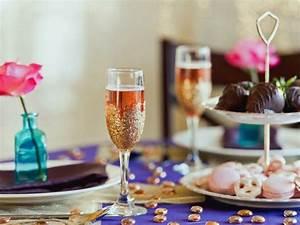 Romantisches dinner valentinstag