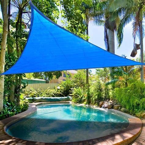 Garden Shade Canopy by 16 5 Triangle Sun Shade Sail Yard Canopy Patio Garden Uv