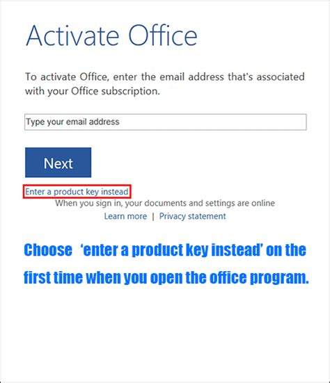 microsoft office 2013 home and business product key