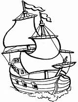 Coloring Ship Pirate Boat Sailing Sail Drawing Speed Printable Galleon Simple Sheet Sunken Template Getcolorings Gas Clipartmag Getdrawings Oat Meal sketch template