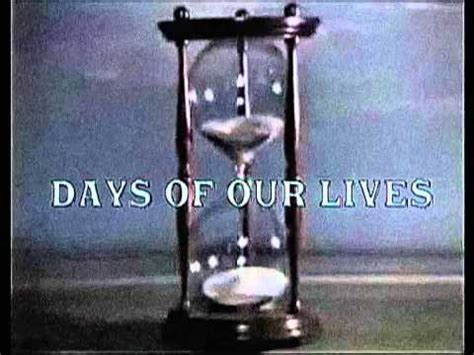 Days Of Our Lives 1965 Opening Theme Youtube