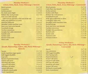 Best Bodybuilding Schedule You Must Know Right Now   U2013 Maqoqa
