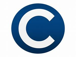 Blue White Letter C Logo PNG « Free To Use Images & Photos ...