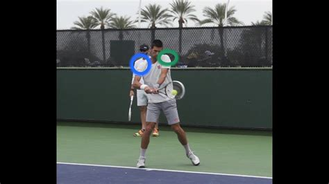 handed backhand lesson body position  contact youtube