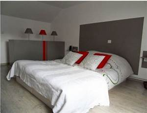 chambre gris et rouge ado With idee deco chambre grise