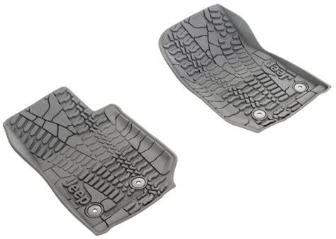 Jeep Jk Floor Mats Mopar mopar 82213861 mopar 174 floor slush mats with tire tread