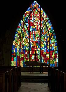 Colorful Stained Glass Chapel Window Photograph by Kathy Clark