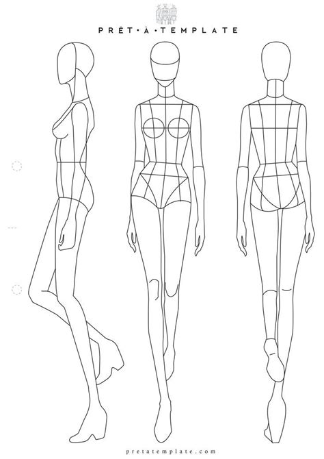Fashion Designer Drawing Template by Best 25 Fashion Sketch Template Ideas On