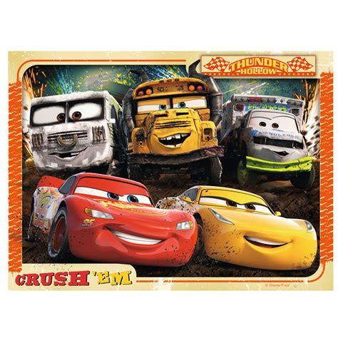kinder puzzle box    disney cars  ravensburger