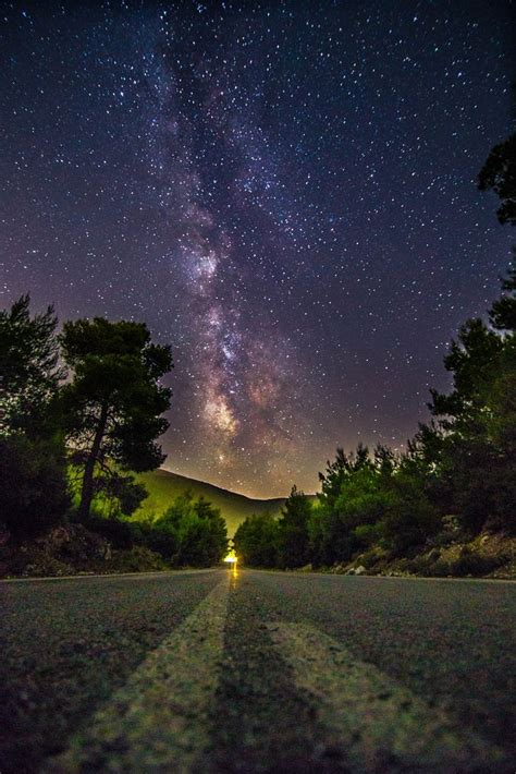 Destination Stars Universe Milky Way Sky Full