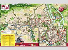 map of vienna tourist attractions sightseeing tourist tour
