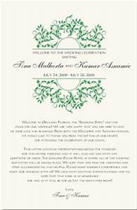 welcome letter template wedding docoments ojazlink With wedding welcome letter template