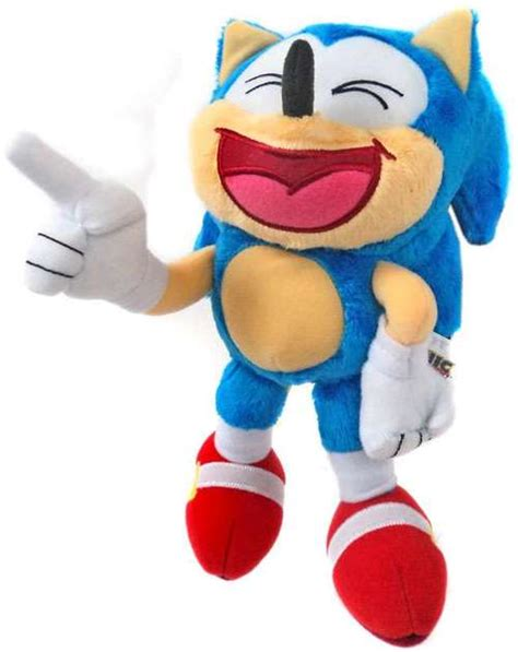 Sonic The Hedgehog Sonic 8 Plush Laughing TOMY, Inc. - ToyWiz