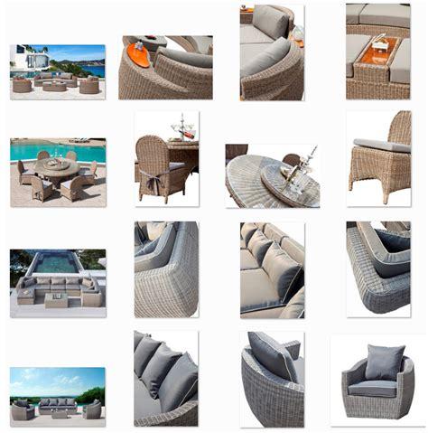 canapé balcon pas cher en rotin jardin canapé meubles de jardin
