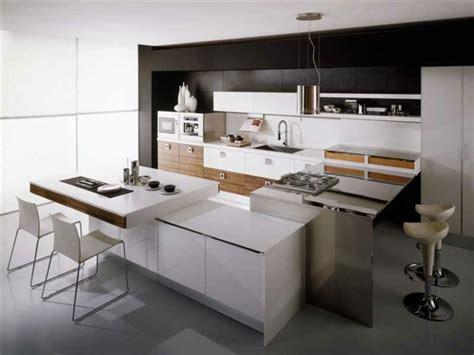 coin repas cuisine moderne cuisine ouverte une partie intégrante de la salle de séjour