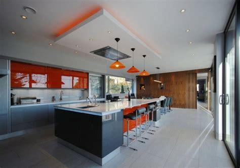 spot dans cuisine cuisines design 110 idées pour un aménagement tendance