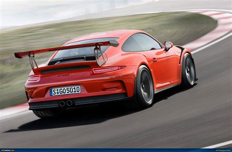 porsche gt3 ausmotive com 2015 porsche 911 gt3 rs revealed