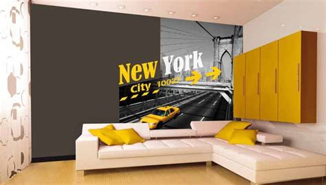 deco york chambre deco chambre york jaune visuel 8