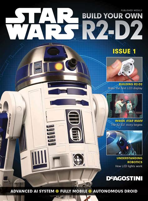 Build Your by Build R2 D2 Wars 1 2 Scale Model Modelspace