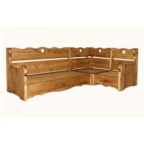 canapé chalet canape d 39 angle en bois massif