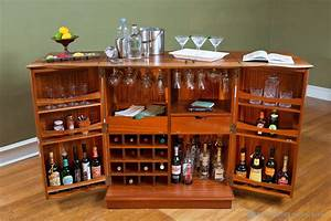 512 Custom Woodworking » Archive » Steamer Bar Cabinet