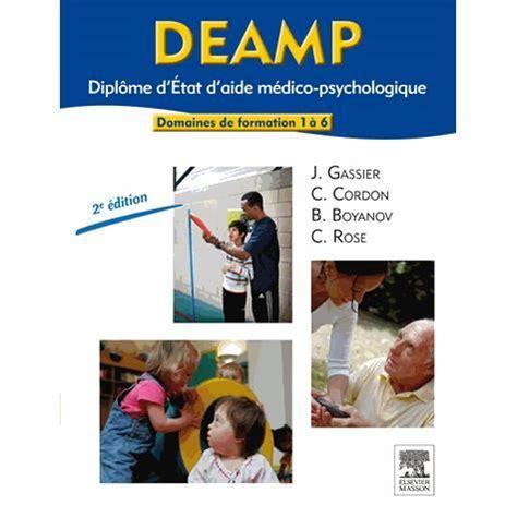bureau d aide psychologique universitaire deamp diplôme d 39 etat d 39 aide médico psychologique achat