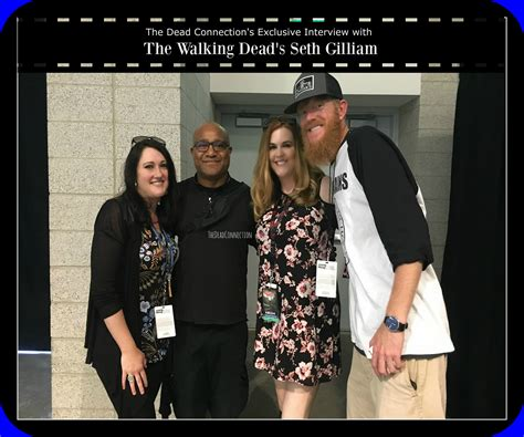 seth gilliam facebook tdc exclusive interview with the walking dead s seth gilliam
