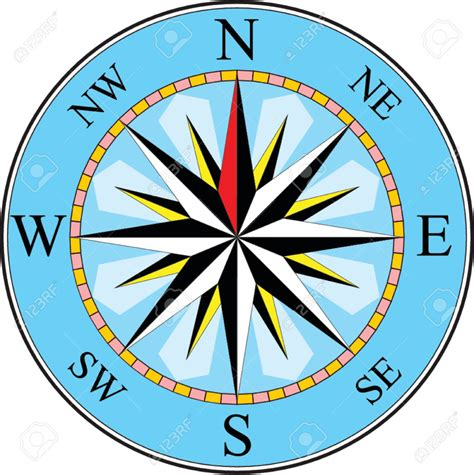 Compass Clip Compass Clipart Compas Pencil And In Color Compass