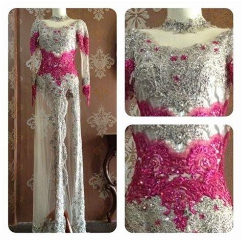 model baju pengantin kebaya modern warna pink ideas
