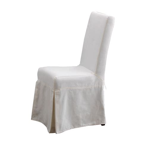 slipcovered chairs white slipcovered dining chair large and beautiful