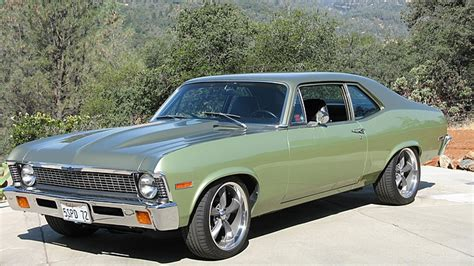 1972 Chevy Nova Restomod: Mecum Monterey August 2014
