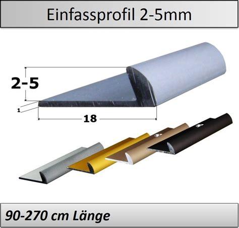 Abschlussprofil Fliesen Rund by 2 5mm Vinyl Abschlussprofil Ansto 223 Profil Direkt Vom
